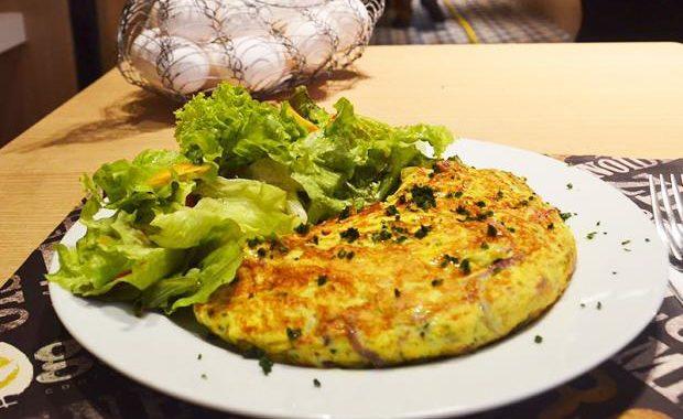 Omelete Mediterrâneo Mineiro