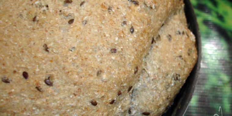 Pão Integral com passas aveia e linhaça